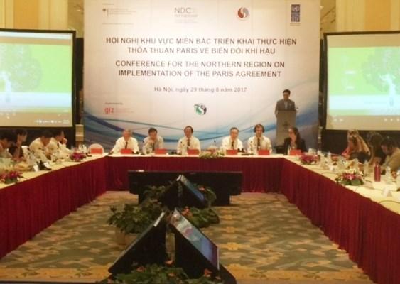 Region nortena de Vietnam se prepara para implementar Acuerdo de Paris hinh anh 1