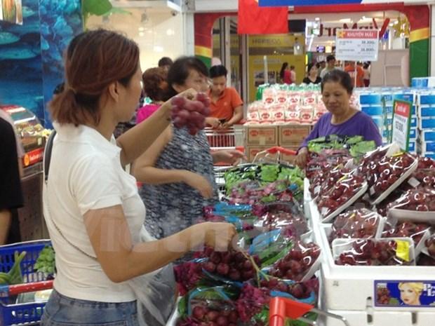 Vietnam ingresa en ocho meses monto multimillonario por exportaciones de frutas y vegetales hinh anh 1