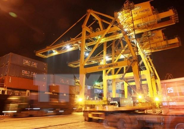 Grupos vietnamita y belga rubrican acuerdo de colaboracion en servicios de puertos maritimos hinh anh 1