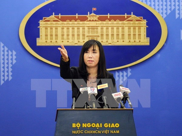Vietnam exhorta a China a no complicar situacion en Mar del Este hinh anh 1