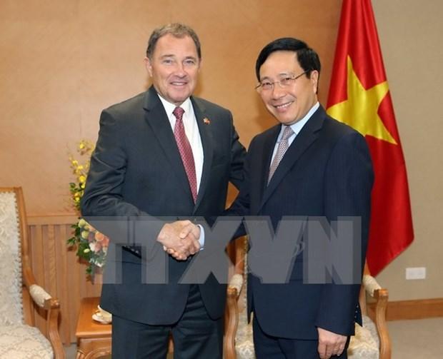 Vietnam llama a inversiones del Estado de Utah de EE.UU. hinh anh 1