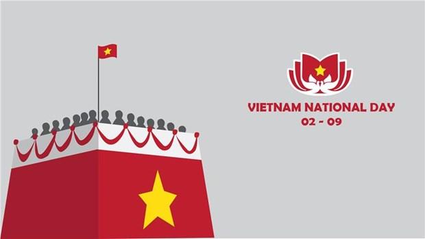 Celebran en Camboya y Sudafrica Dia Nacional de Vietnam hinh anh 1