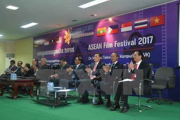 Celebran en Camboya festival de cine de la ASEAN hinh anh 1