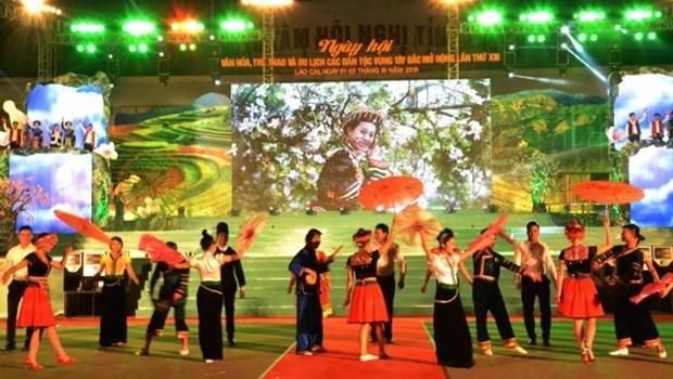 Celebran en provincia norvietnamita Dia Cultura de las etnias hinh anh 1
