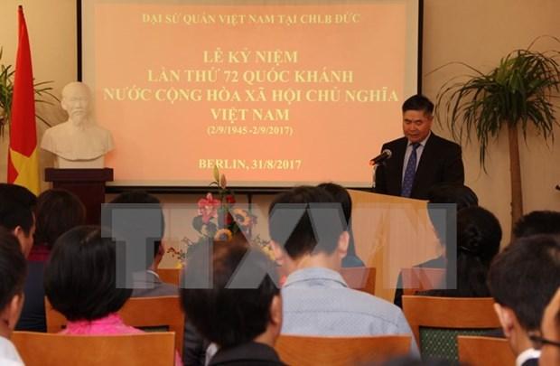 Celebran en el exterior actividades conmemorativas por Dia Nacional de Vietnam hinh anh 1