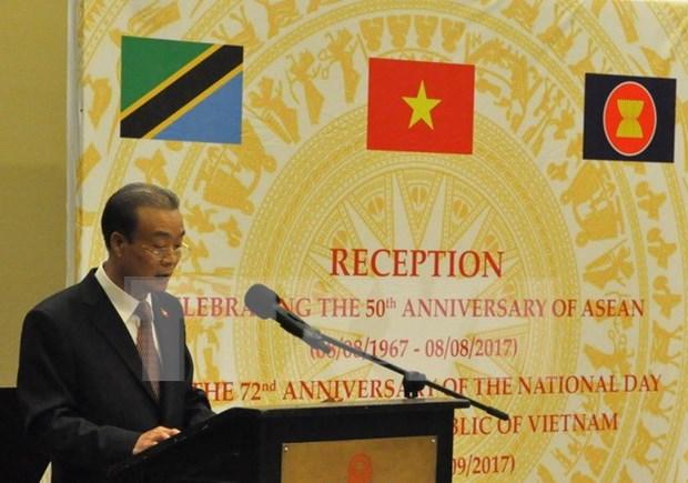 Conmemoran en Tanzania, Rusia y Laos Dia Nacional de Vietnam hinh anh 1