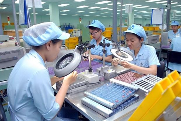 Vietnam: Unos 102 mil trabajadores registrados en empresas creadas en agosto hinh anh 1