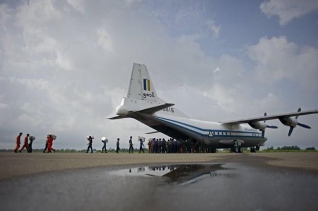 Avion militar de Myanmar desaparecido en vuelo de entrenamiento hinh anh 1