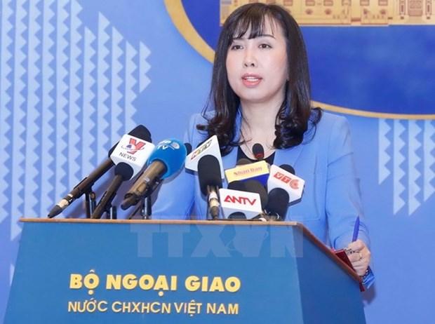 Vietnam exige a China respetar su soberania en Hoang Sa hinh anh 1