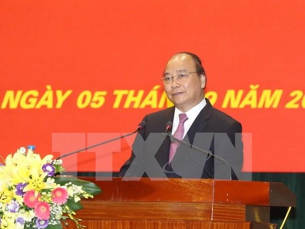 Premier vietnamita destaca importante papel de Academia Politica Nacional Ho Chi Minh en capacitacion de cuadros hinh anh 1