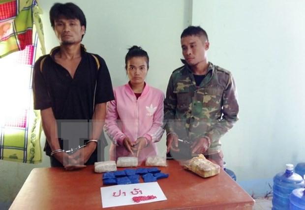 Policia de Vietnam decomisa 12 mil capsulas de drogas sinteticas hinh anh 1