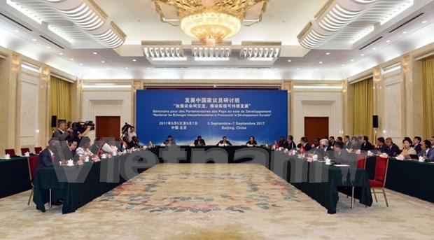 Participa Vietnam en conferencia de la IPU sobre desarrollo sostenible hinh anh 1