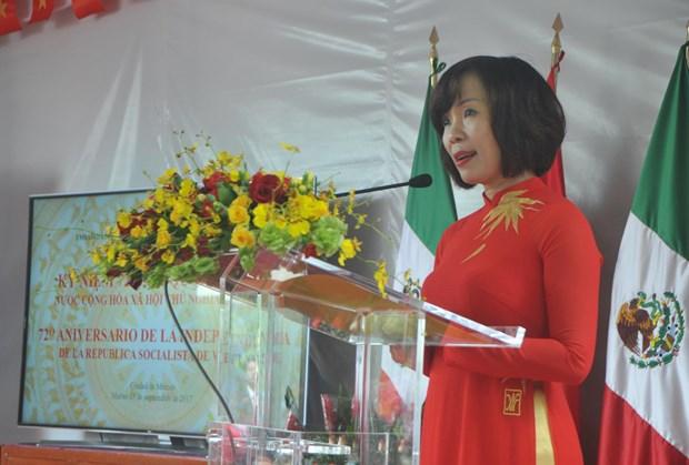 Conmemoran Dia Nacional de Vietnam en Mexico hinh anh 1