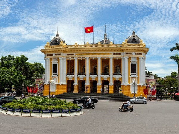 Inician servicio de recorrido por el Gran Teatro de Opera de Hanoi hinh anh 1