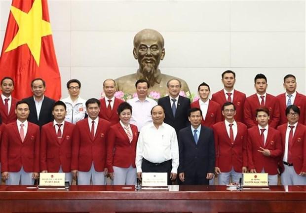 Premier vietnamita resalta hazanas del deporte nacional en SEA Games 29 hinh anh 1