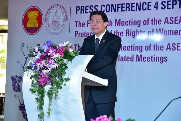 Tailandia acoge conferencia regional sobre proteccion de mujeres y ninos hinh anh 1