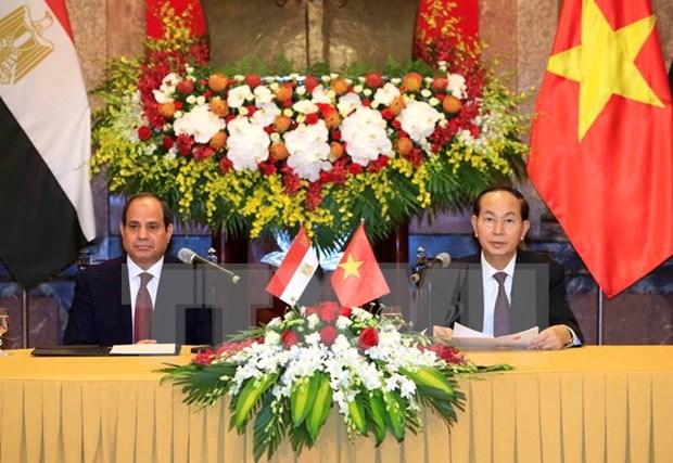 Vietnam y Egipto aumentan intercambio comercial hinh anh 1