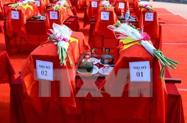 Vietnam y Camboya impulsan cooperacion en repatriacion de restos de combatientes internacionalistas hinh anh 1
