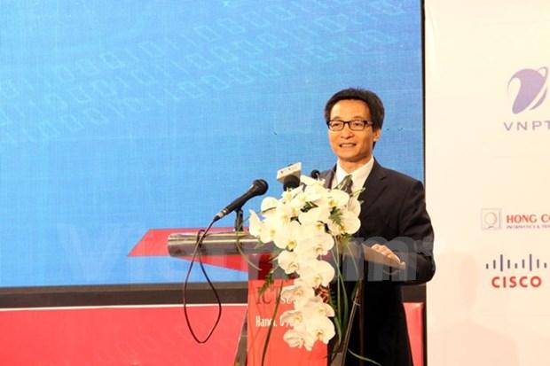Efectuan cumbre de informatica y comunicacion de Vietnam hinh anh 1