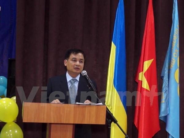 Inauguran curso de idioma vietnamita en Ucrania hinh anh 1