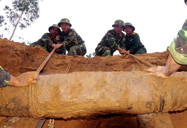 Aprecian empeno de Vietnam en superacion de secuelas de bombas remanentes de guerras hinh anh 1
