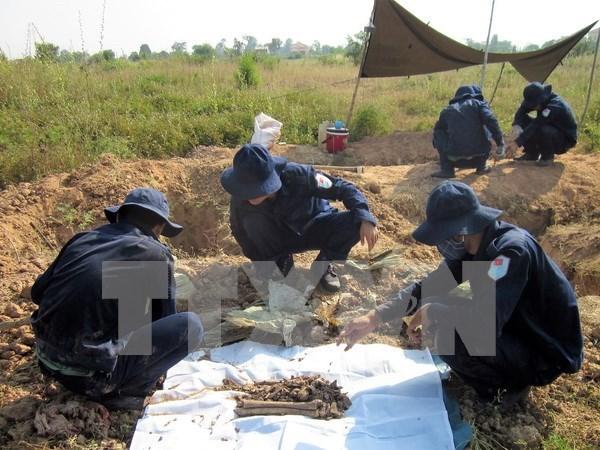 Impulsan repatriacion de restos de soldados vietnamitas en Camboya hinh anh 1