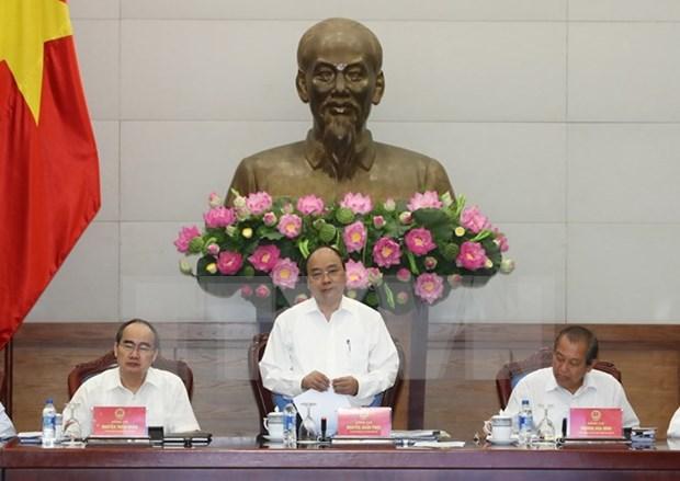 Urgen a Ciudad Ho Chi Minh a promover su papel economico hinh anh 1