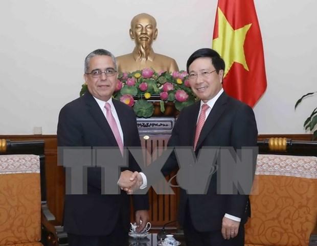 Viceprimer ministro vietnamita reitera solidaridad invariable con el pueblo cubano hinh anh 1