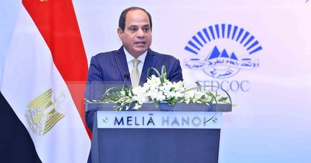 Vietnam y Egipto buscan elevar intercambio comercial hinh anh 1
