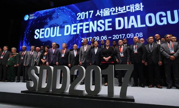 Fortalecen nexos Vietnam-Sudcorea en defensa hinh anh 1