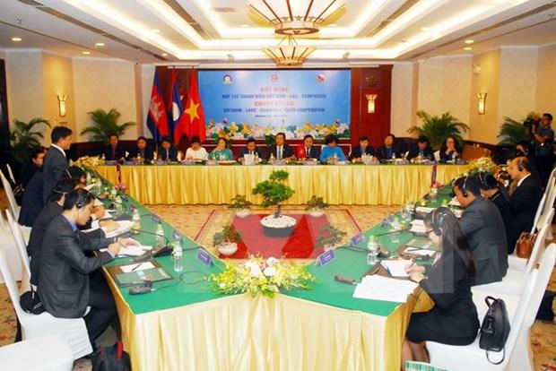 Fortalecen nexos juveniles entre Vietnam, Laos y Camboya hinh anh 1