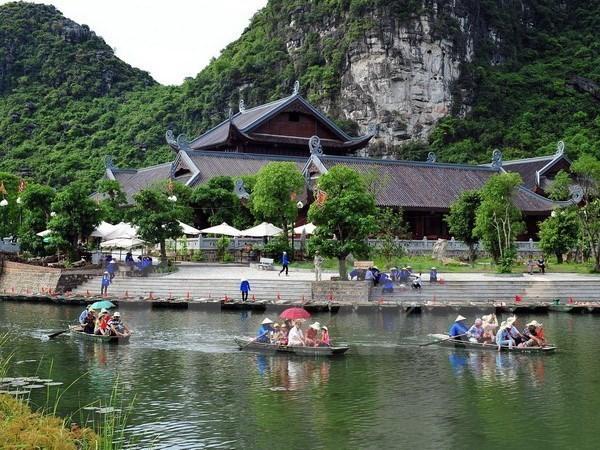 Provincia de Ninh Binh promueve turismo en feria internacional en Ciudad Ho Chi Minh hinh anh 1