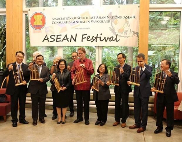 Imagenes de Vietnam sobresalen en Fiesta de ASEAN en Canada hinh anh 1
