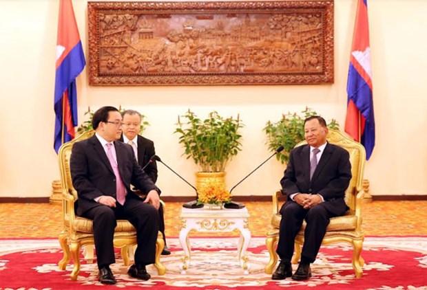 Camboya se esfuerza por impulsar relaciones con Vietnam hinh anh 1