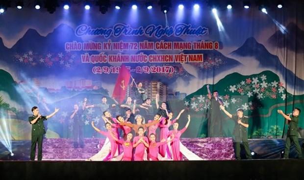 Diversos paises felicitan a Vietnam por Dia Nacional hinh anh 1