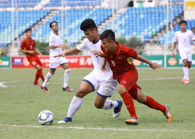 Vietnam repite goleada contra Filipinas en campeonato regional de futbol hinh anh 1