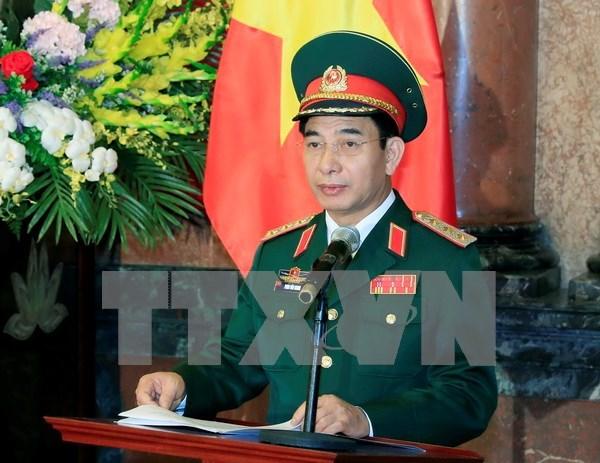 Visita de delegacion militar de Vietnam: muestra de lazos fieles con Cuba hinh anh 1