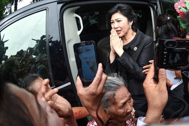 Tailandeses confian en mejora de situacion politica tras salida de Shinawatra hinh anh 1