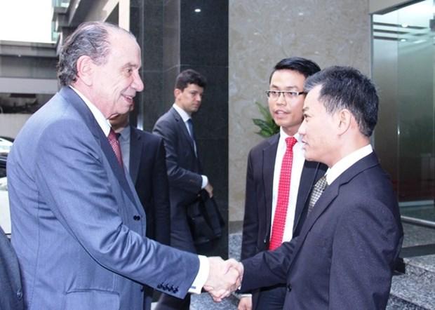 Vietnam y Brasil fortalecen vinculos de amistad hinh anh 1