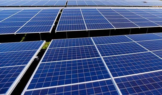 Inician construccion de gran planta de energia solar en Camboya hinh anh 1