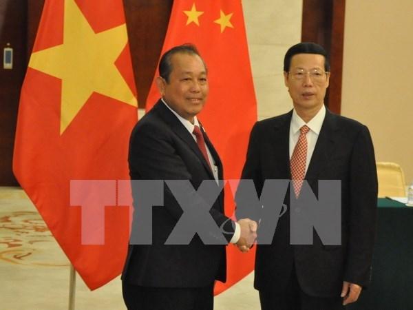 Vicepremier vietnamita visita Region Autonoma china Zhuang de Guangxi hinh anh 1