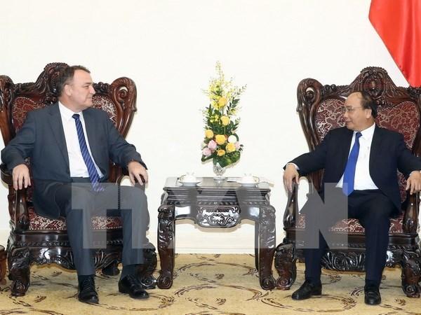 Vietnam y Eslovaquia se esfuerzan por impulsar relaciones bilaterales hinh anh 1