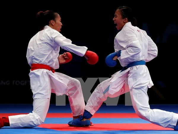 Vietnam logra historico oro en evento internacional de Karate hinh anh 1