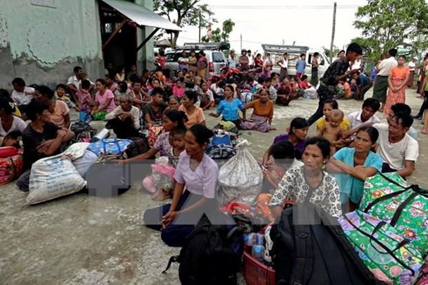 Gobierno de Myanmar rechaza el cese el fuego propuesto por rebeldes rohingyas hinh anh 1