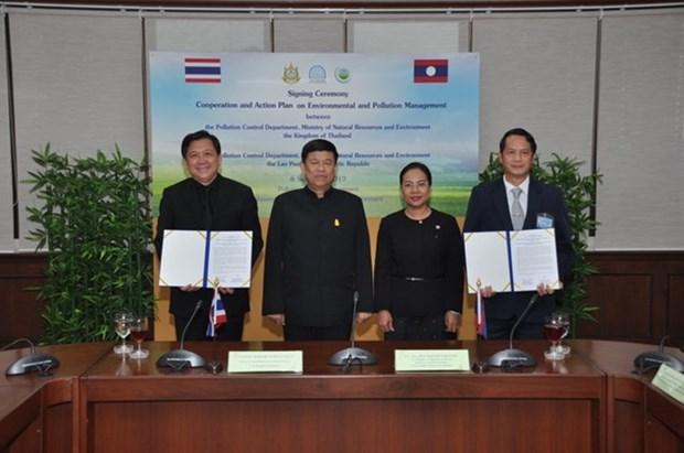Tailandia y Laos cooperan para controlar contaminacion hinh anh 1