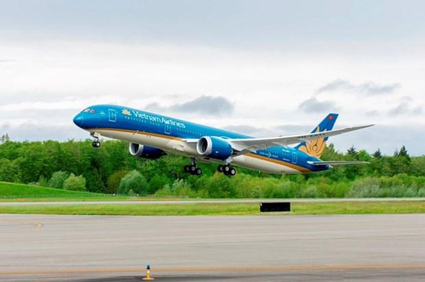 Vietnam Airlines ajusta horarios de vuelos a Taiwan por tifon Talim hinh anh 1
