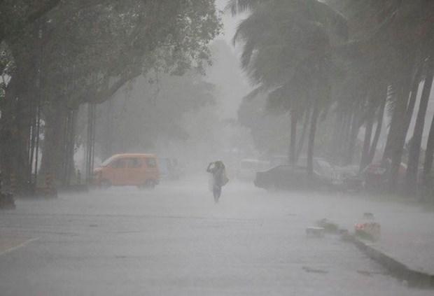 Filipinas: cuatro muertos y seis desaparecidos por tormenta Maring hinh anh 1