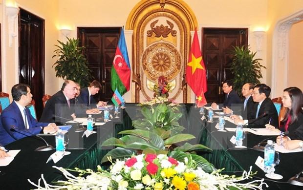 Vietnam y Azerbaiyan buscan una mayor cooperacion hinh anh 1