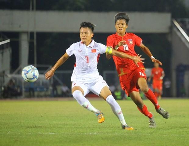 Equipo sub-18 de futbol de Vietnam eliminado de Campeonato del Sudeste Asiatico hinh anh 1
