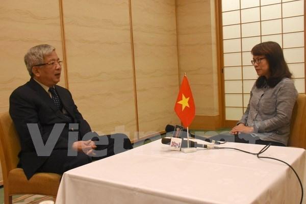 Relaciones Japon-ASEAN impulsan alianza Vietnam-Japon hinh anh 1